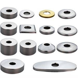4 puntos 6 puntos grifo de la cubierta de los tubos de agua de acero inoxidable cubierta decorativa de la cocina grifo de la ducha accesorios