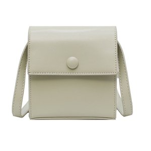 Bags women 2020 spring new fashion Korean version of small square bag women Candy-colored bag slung over one shoulder cell phone bag