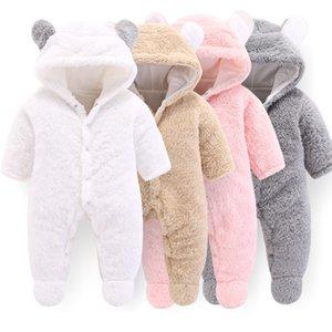 Orangemom oficial recém-nascidos Baby roupas de inverno infantil Meninas roupas lã macia Casacos macacãozinho recém-nascido -12m Boy Jumpsuit GPS