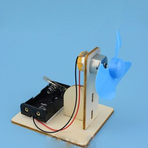 Children's Physics Science DIY Homemade Electric Fan Experiment Model Technology Small Production Materials Kids Toys