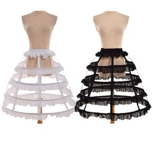 4 обруча Fishbone Petticoat Средневековая Викторианский бальное платье кринолин Underskirt