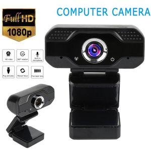 Webcams full hd 1080p с микрофоном 2mp usb потоковые веб-камеры для видеозвонки HD-камеры HD для компьютерного ноутбука компьютера