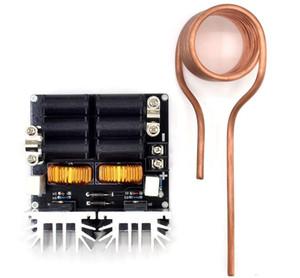 Düşük ZVS 12-48 V 20A 1000 W Düşük Gerilim İndüksiyon Isıtma Kurulu Yüksek Frekans İndüksiyon Isıtma Makinesi Modülü