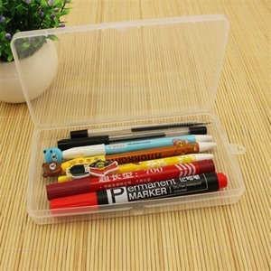 High Quality Transparent plastic box Storage Collections Product packaging box dressing case Clear Box 17.6x10.4x2.4cm