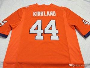 Hommes personnalisés jeunes femmes Clemson Tigers # 44 Levon Kirkland Football Jersey taille s-4XL ou sur mesure tout nom ou le numéro jersey
