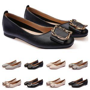 Cheap sapata lisa tamanho lager 33-43 mulheres de couro Menina nu cinza preto New arrivel casamento de Trabalho sapatos vestido de festa de quinze
