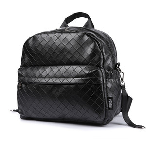 Soboba الأسود منقوشة حفاضات سعة كبيرة أنيق السفر عربة الطفل وجيزة الأمومة حقيبة الأم المألوف حقيبة Q190530