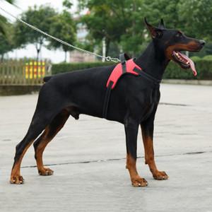 Chien réglable doux Pet Dragonne Harnais Pet Grand Dog Walk Out Harnais pour chiens Petit Moyen Gros