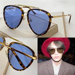 Nuevo diseñador de moda gafas de sol 0672 marco piloto simple estilo superventas de calidad superior uv 400 protección gafas al aire libre popluar gafas