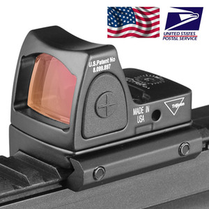2018 Nova Trijicon Estilo Reflex tático ajustável Scope Red Dot Sight para rifle Caça Tiro