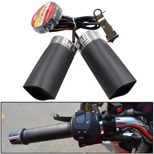Calefacción eléctrica al manillar de la motocicleta eléctrica de la batería del coche 12v invierno manillares establece 12v consigna de calefacción manillar placa de calentamiento