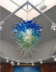 Murano Glass Bubble Chandelier mão de Venda Quente soprada Moderna Luz do tecto como decoração de Casamento Livre Transporte