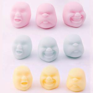2020 جديد الكبار اللعب تخفيف الضغط الطفل تنفيس الإنسان الكرة الوجه مكافحة الإجهاد الكرة اليابانية Caomaru تصميم مارو تساو الشخصية تنفيس