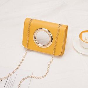 da moda selvagem Diagonal Package Círculo decorativa Bloqueio Mulheres de Verão Novo Shoulder Bag Mulheres Clutch Bags