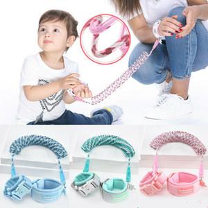 Aggiornamento regolabile Anti perso polso link bambino guinzagli Per la sicurezza della cinghia di cablaggio bambino fune bambini camminare mano cinghia della fascia Wristband