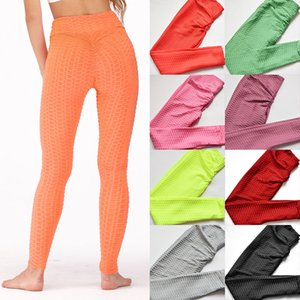 Women Yoga Pants Push up Sporty Leggings Tights Stretch Fitness Workout Running Skinny Bodycon Trousers Gym Home Sportswear