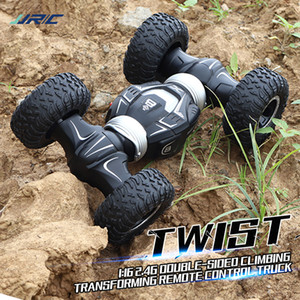 JJRC Q70 Stunt Double-sided Drive Radio Control 4WD Desert Cars Off Road Buggy Toys High Speed Climbing RC Car Kids Gifts MX200414