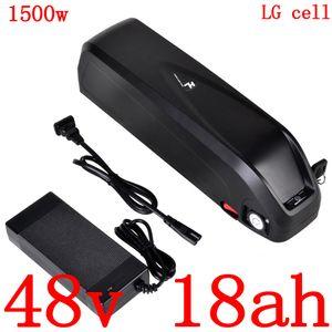 48v bicicletta elettrica batteria 48v 17Ah 18Ah litio ioni cellule lg uso batteria per 48v 500w 750w 1000w 1500w ebike motore duty free