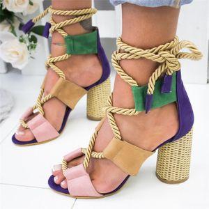MoneRffi 2020 New Fashion Torridity Women Sandals Female Beach Shoes fasten Shoes Heel Comfortable Sandals Plus Size