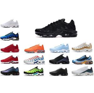 2020 TN Plus SE мужские кроссовки тройной белый черный Hyper Psychological blue deluxe 3D очки дышащие кроссовки тренеры с коробкой