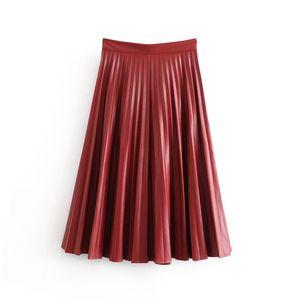 Bonjean Women Chic Jeans Solid Midi Skirt Bow Tie Belt Side Zipper Bud Female Basic Casual Fashion Skirts Mujer