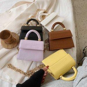 2020 Mode New Clyine Mini Petite Place Sac Qualité PU cuir sac à main de la chaîne bandoulière Messenger Sacs 5 Couleur