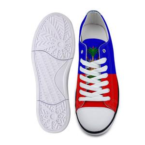 HAİTİ erkek ayakkabı diy serbest özel isim numara hti çift ayakkabı millet bayrak ülke ht fransız haitian cumhuriyet kolej baskı fotoğraf