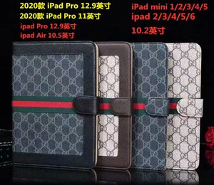 For iPad mini cases iapd 7 10.2inch ipad2 3 4 Phone pouch Rhinestone Crown rivet Smart Cover with stand shockproof Dormancy pc+pu leather