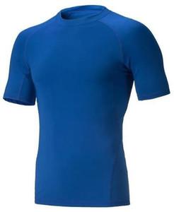 2019 men's tight clothes running short-sleeved quick-drying T-shirt 310