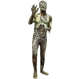 Horrifying Biochemical zombie Skin Decoration Boys Character Clown Funny Kids Cosplay Halloween Costumes Purim Girls Jumpsuits