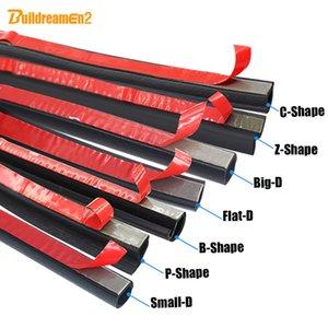 Buildreamen2 Car Styling Seal Strip Carrosserie Porte de capot de coffre Weatherstrip bord d'étanchéité Garniture de bruit Isolation