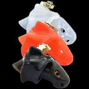 Мужской целомудрие устройство силиконовые шипы массаж петух клетка БДСМ секс игрушки пенис кольцо замок девственность пояс