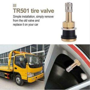 1Pcs NEW TR501 Brass Straight Tubeless Tire Valve Stem For Car Trailer ATV