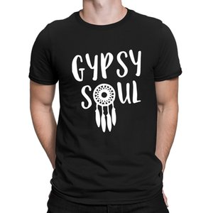 Gypsy Soul T-Shirts Slim Character T Shirt For Men Top Quality Interesting Classic Anlarach Branded