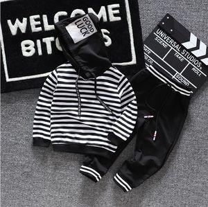 BibiCola 2019 garçons de bébé vêtements enfants printemps automne garçons tops + costume pantalon sport enfant pour les garçons survêtement enfant tenues T191024
