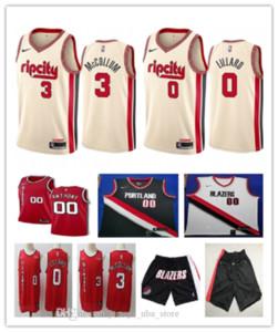 MenPortlandTrailBlazers 00 Carmelo Anthony Black White Swingman Jersey Short 03