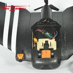 ZOHD SonicModell AR Asa de 900 milímetros EPP Wingspan RC FPV Avião Asa fixa Glider Drone Plane Modelo com 80 + km / h versão de actualização KIT