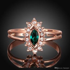 Anneaux de pierres précieuses pour femmes hommes magnifiquement bague mode marque engagement bagues de mariage diamant Crystal 18K plaqué or mariage bagues de diamant