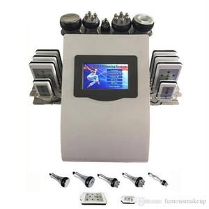 40k 6in1 láser de calidad superior quema de grasa máquina adelgazante cavitación ultrasónica RF levantamiento de la piel liposucción pérdida de peso masaje corporal
