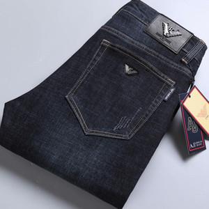 857-1 Giorgio ARJ AutumnSpring Açık Pantolon Kalın pantolon pantolon Stretch kot pamuk pantolon pantolon düz iş olağan biçimde yıkanır