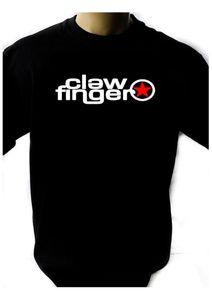 CLAWFINGER логотип черный новый футболка рок-футболка рок-группа рубашка