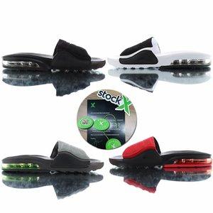 2020 New Air Cushion Camden Slides Oreo Red Triple Black Herren Hausschuhe Vapor Vapors Mode Luxe Außen Mann Flip-Flops Sandalen pantoufle
