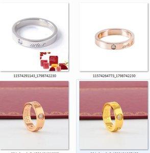 2020 venta de acero de titanio venta al por mayor caliente se elevó destornillador amante anillo de bodas de plata de la joyería de moda anillo de oro para los hombres de las mujeres anillo de Mujer