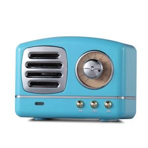 HM11 Mini Bluetooth Haut-parleurs Portable Radio Rétro Vintage Nostalgique Lourde Basse 3D Stéréo Surround HiFi TF USB FM AUX