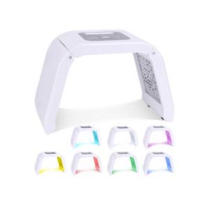 한국 휴대용 오메가 빛 치료 기계 Led 7 색 PDT Photon 여드름 치료 안료 수정