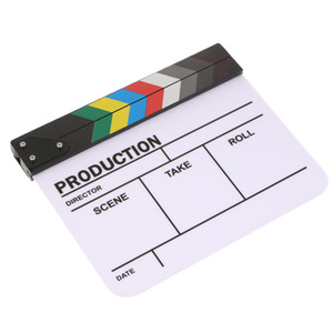 Movie Film Slate Clapper Board Dry Erase