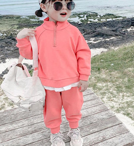 Tuta autunnale nuova versione coreana tuta sportiva per bambini primavera e autunno tuta per il tempo libero spedizione gratuita