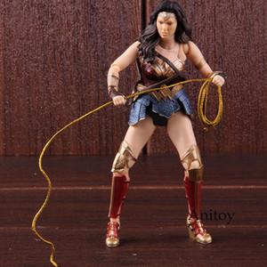 DC 코믹스 액션 피겨 법무부 리그 SHF Wonderwoman Diana Prince Wonder Woman 피겨 소장 가치 Model Toy SH190915
