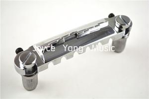 Niko Chrome arremate Matching Locking Studs Para LP Guitarra elétrica do estilo Ponte livre grosso envio