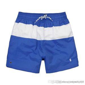 2019 Summer Men 's Swimwear Beach Pants Mens Board Shorts Black boy surf Shorts Small Horse Swim Truss Sport Shorts de bain homme M-2XL